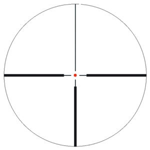 Iluminados de caza: 4 dot, 4 cruz, duplex iluminated, varipoint.