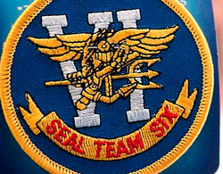 Shield Navy Seal Team Six, the unit that carried out the assault on bin Laden's refuge