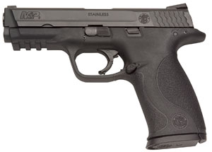 The Smith & Wesson pistol chosen M & P9