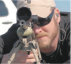 Chris Kyle in one of his last public image, about to make a shot.